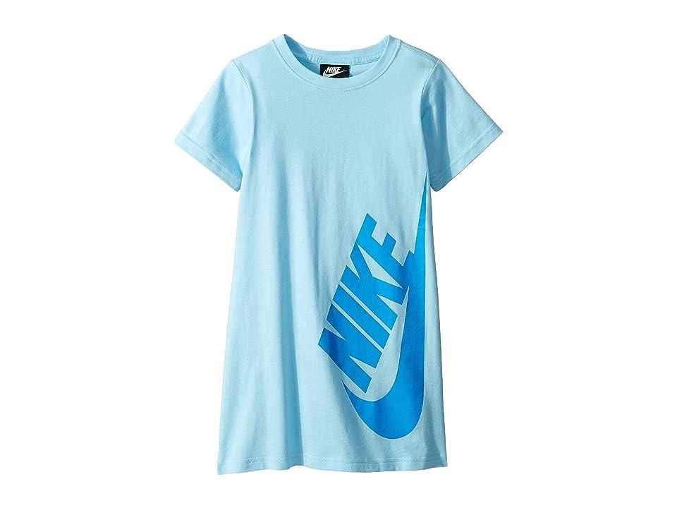 Nike Kids Sportswear T-Shirt Dress (Little Kids) (Blue Chill) Girl