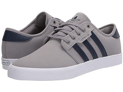 adidas Skateboarding Seeley (Chalk Solid Grey/Collegiate Navy/Footwear White) Men