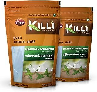 KILLI Bhringraj | Karisalankanni | Kayonni | Eclipta alba | False daisy Leaves Powder, 100g (Pack of 2)