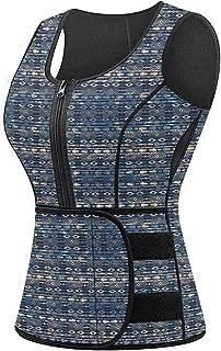 Sweat Vest for Women, Neoprene Sauna Waist Trainer Vest for Weight Loss Women