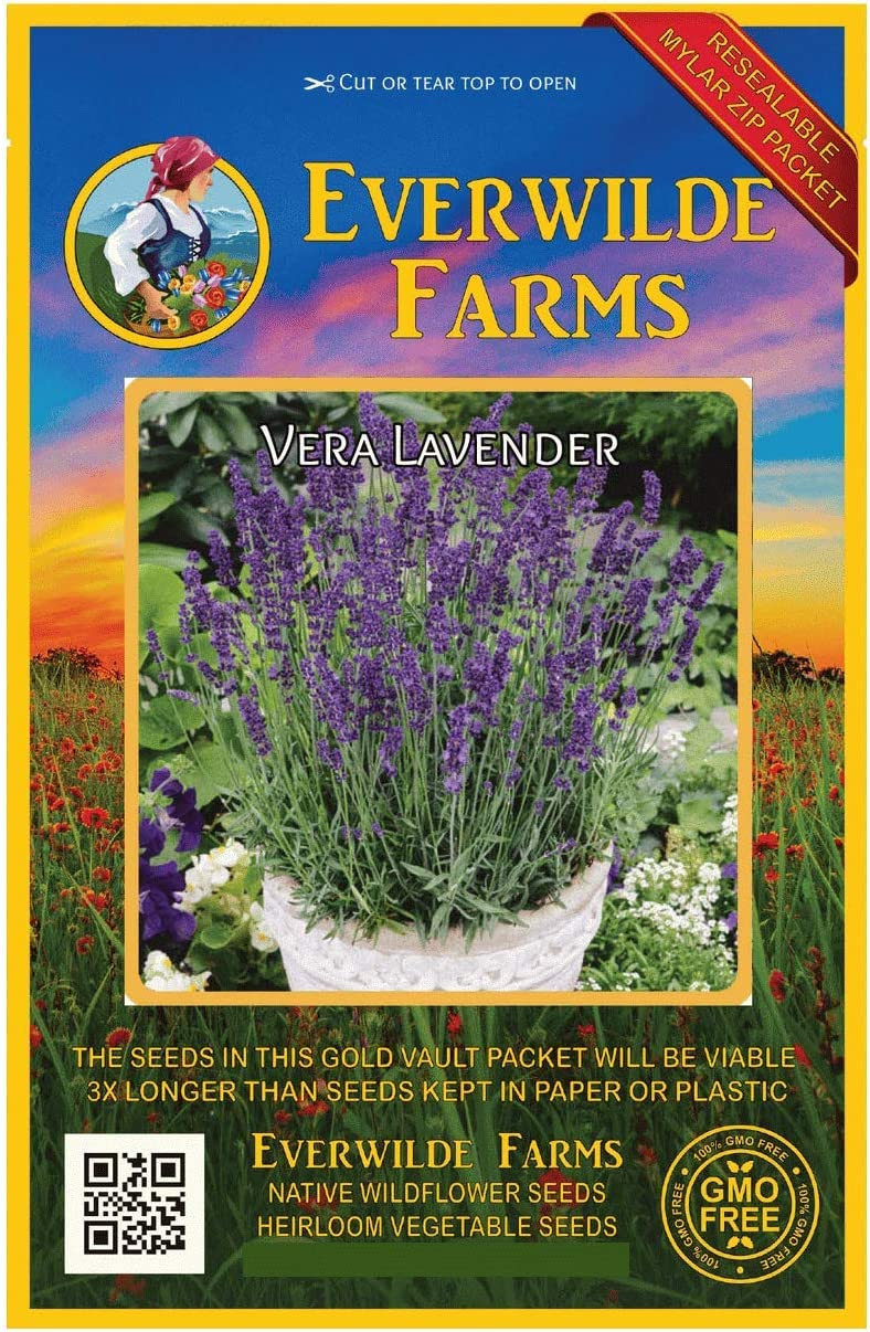 Everwilde Farms - 2000 Vera Lavender Super beauty SEAL limited product product restock quality top Herb Vault Seeds Gold Jum