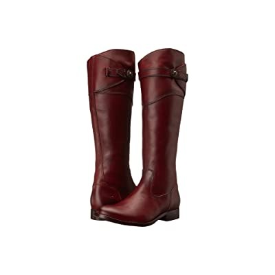 Frye Molly Button Tall (Redwood Smooth Vintage Leather) Cowboy Boots