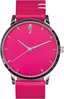 Maro Cevalo Balance Watch for Men and Women | 40mm Minimalist Wrist Watch with Analog Miyota Movement and Genuine Italian ...