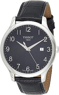 Men's TIST0636101605200 T Classic Analog Display Swiss Quartz Black Watch