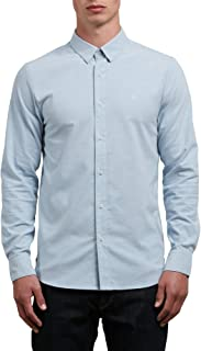 Men's Oxford Stretch Long Sleeve Button Up Shirt