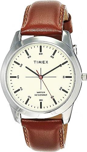 Timex Analog Beige Dial Men's Watch-TW00ZR261E