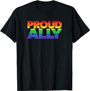 Gay Pride Ally Shirt LGBT Shirt Friends Proud Ally t-shirt