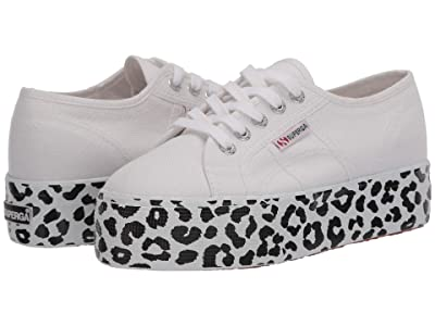 Superga 2790 COTW Print (White Leopard) Women