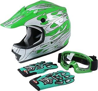 XFMT Youth Kids Motocross Offroad Street Dirt Bike Helmet...