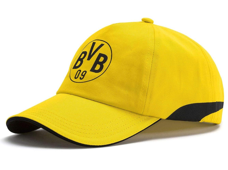 German Bundesliga Borussia Dortmund PUMA Licensed AccessoriesOfficial License Supplier of Replica and On-Pitch Merch, Puma Black-Cyber Yellow, One Size