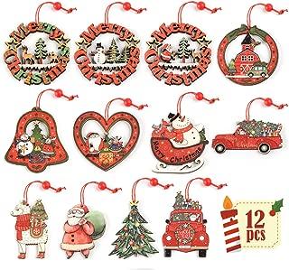 Best wooden santa claus ornaments Reviews