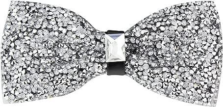 rhinestone bow tie