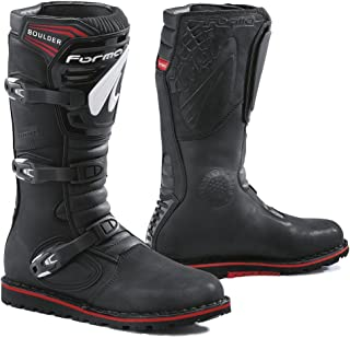 Forma Boulder Trials Off-Road Motorcycle Boots (Black, Size 14 US/Size 48 Euro)
