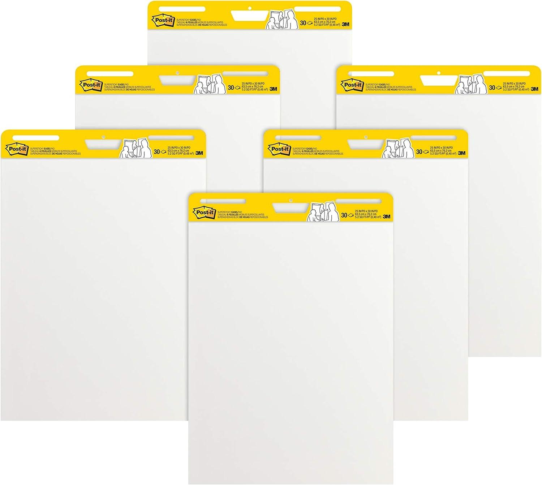 Post-it Meeting Flipchart-Blöcke Flipchart-Blöcke Flipchart-Blöcke 63,5 x 77,5 cm selbsthaftend 6 Stück B0018KVD70 | Online einkaufen  07923c