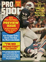 Pro Sport Magazine September 1975 (O.J. Simpson cover and feature)