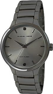 Geoffrey Beene Men's GB8140GU Analog Display Analog Quartz Black Watch