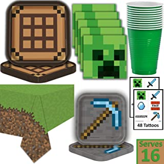 Best minecraft theme party decorations Reviews