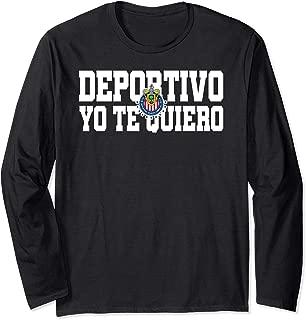 Deportivo Yo Te Quiero Chivas de Guadalajara Long Sleeve T-Shirt