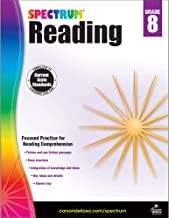 Spectrum Paperback Reading Workbook, Grade 8, Ages 13-14