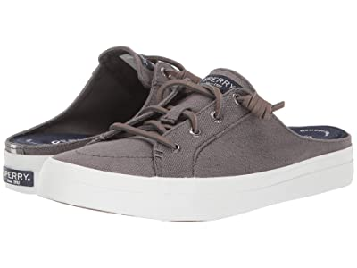 Sperry Crest Vibe Mule Canvas (Grey) Women