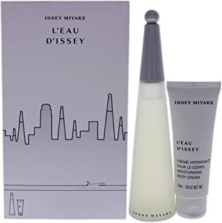Issey Miyake L'Eau D'Issey for Women Eau de Toilette 100ml+75ml Body Cream Travel Set