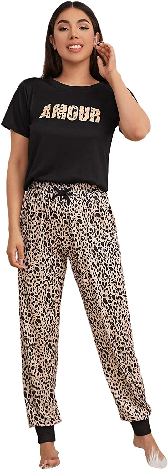 DIDK Women's Pajama Set Casual Short and High quality new Seattle Mall Top Pants Sleeve Sleepw