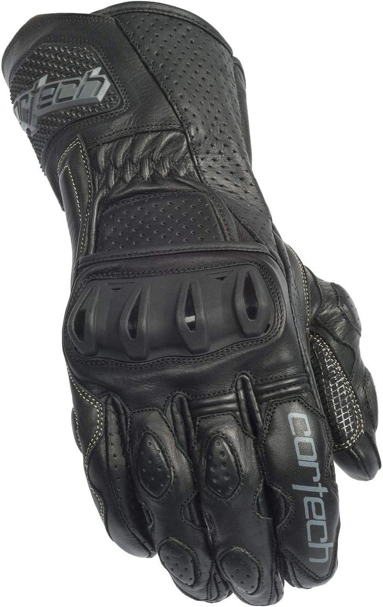 Black, Medium Cortech Mens Latigo 2 RR Glove