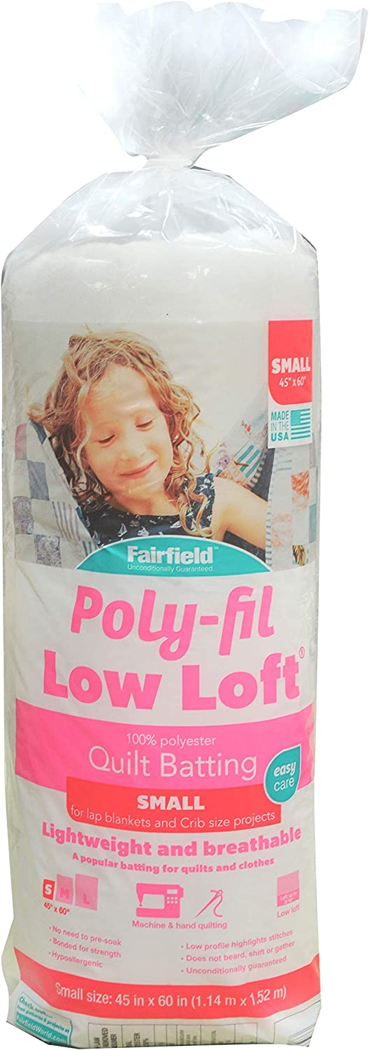 Low loft batting is another product I like to use when creating felt food. It adds plushness without bunching up.