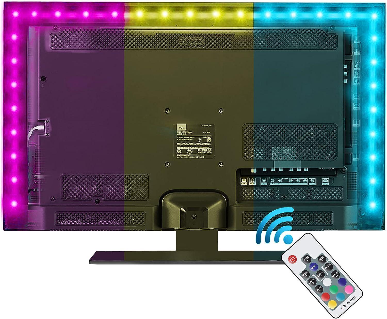 Led Strip Lights 25% OFF Vansky Bias Same day shipping Lighting 6.6ft 40-60 inch for TV RG