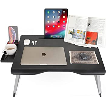 Cooper Cases MEGA TABLE 大型天板 折りたたみ ローテーブル ベッド 65*49*27cm (ブラック)