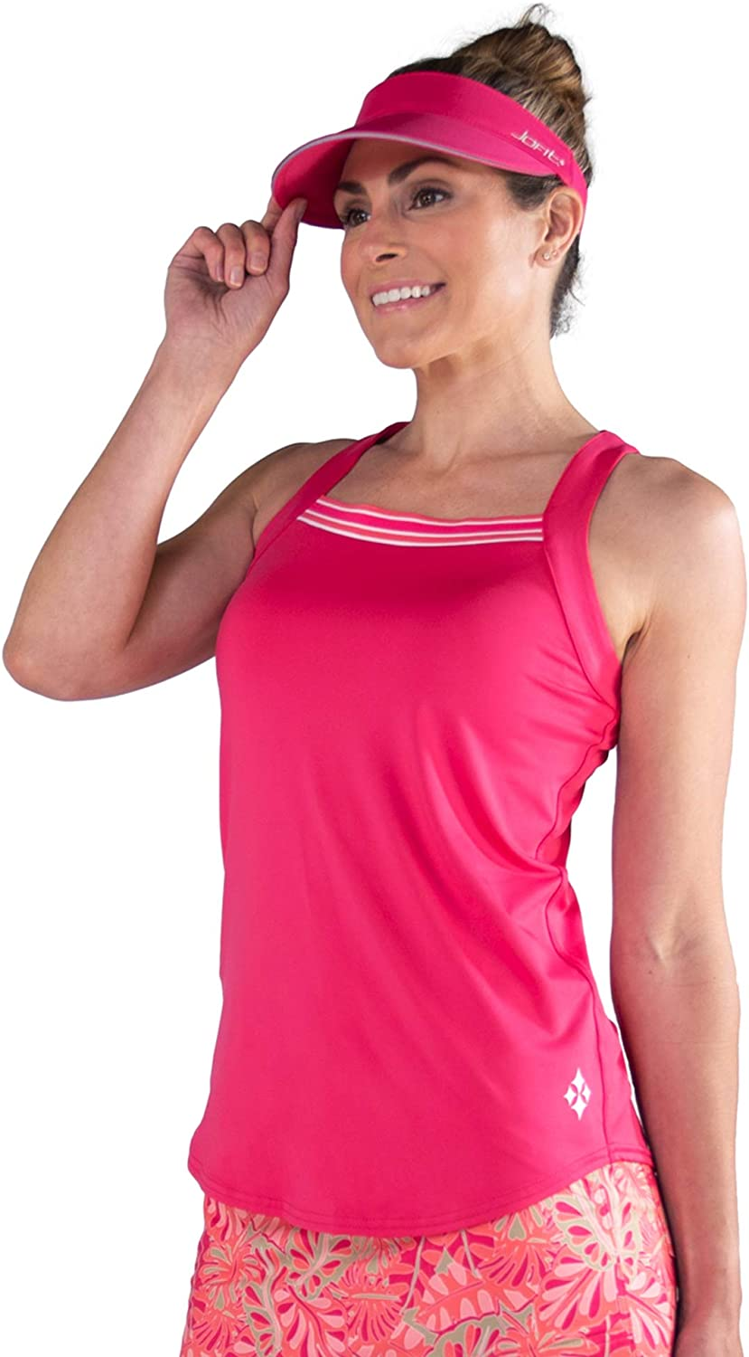Jofit Apparel Free shipping anywhere in the nation Women's Athletic Clothing Top Rib New sales Square Tank Neck
