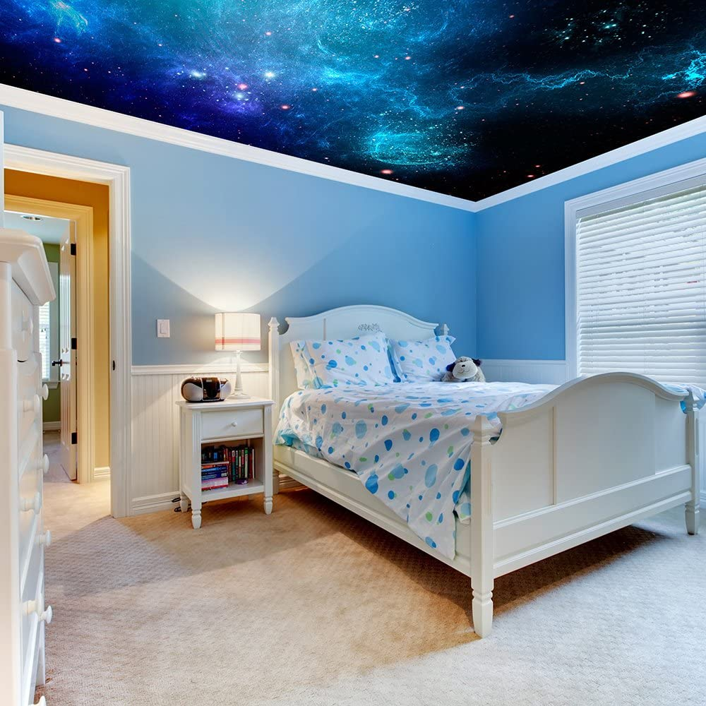 Custom Your Own Personalised Wall Stickers/Universum Milky Way ...