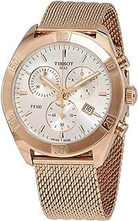 Tissot Chronograph Silver Strap Women's Wrist Watches - T101.917.33.031.00