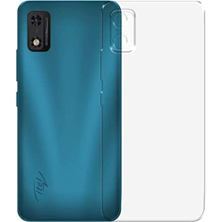 LUKS Protective Silicon Soft Transparent Back Cover for iTel A23 Pro
