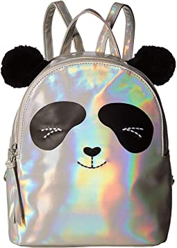 Irridescent Panda Backpack