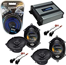 $226 » Sponsored Ad - Harmony Audio HA-A400.4 Amp Bundle with (2) Harmony Audio HA-R68 Speakers Compatible with Ford F-250/350/45...