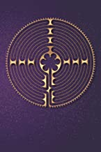 Labyrinth Journal: Chartres Labyrinth Lined Notebook