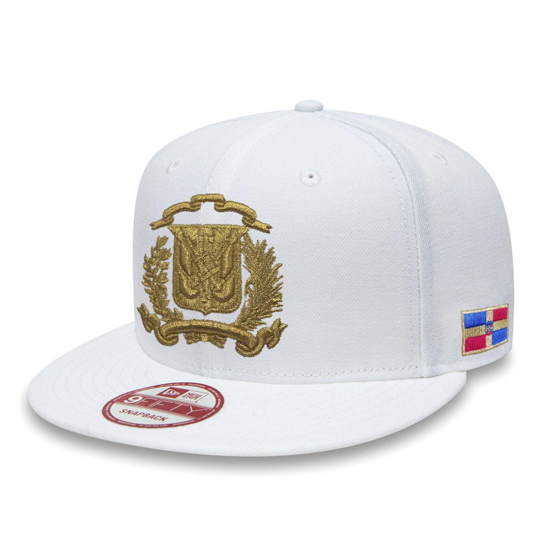 Dominicana república snapback sombrero Dad Vintage Cap, blanco ...