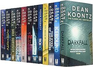 Dean Koontz Collection 12 Books Set (Darkfall, Icebound, The Eyes of Darkness, House of Thunder,Ticktock,Night Chills,The ...