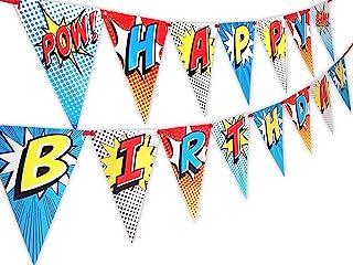 Wild One Party Banner POP parties by Gwynn Wasson Designs Boho Happy Birthday Banner Pennant