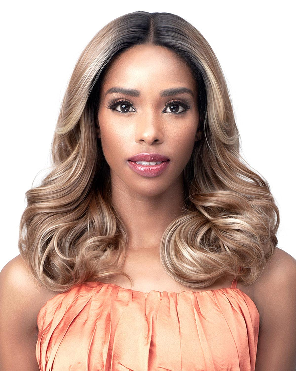 2021new shipping free Bobbi Boss Lace Front ISOBELLE Wig 2 In a popularity MLF545
