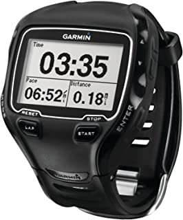 Garmin Forerunner 910XT GPS Multisport Watch with Heart Rate Monitor - Black (Discontinued by Manufacturer) (Renewed)
