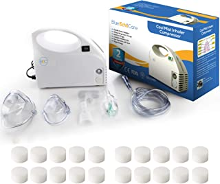 Blue Echo Care Portable System Kit with 20 Filters, 2 Masks, Carrying Case