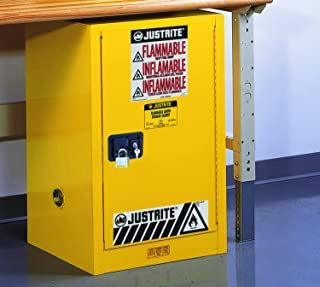 Best compact flammable storage cabinet 12 gallon capacity Reviews