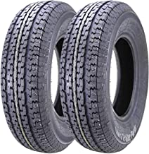 2 New Premium WINDA Trailer Tires ST 205/75R14 8PR Load Range D w/Scuff Guard