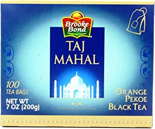 brooke bond TAJ MAHAL 100 tea bags (7 oz)