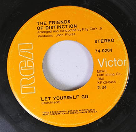 a57b3d7bd THE FRIENDS OF DISTINCTION 45 RPM LET YOURSELF GO / GOING IN CIRCLES