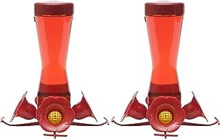 Perky-Pet Pinch-Waist Glass Hummingbird Feeder 203CPBN, 8-Ounce Capacity (2 Pack)