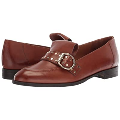 Paul Green Tarin Flat (Cognac Leather) Women