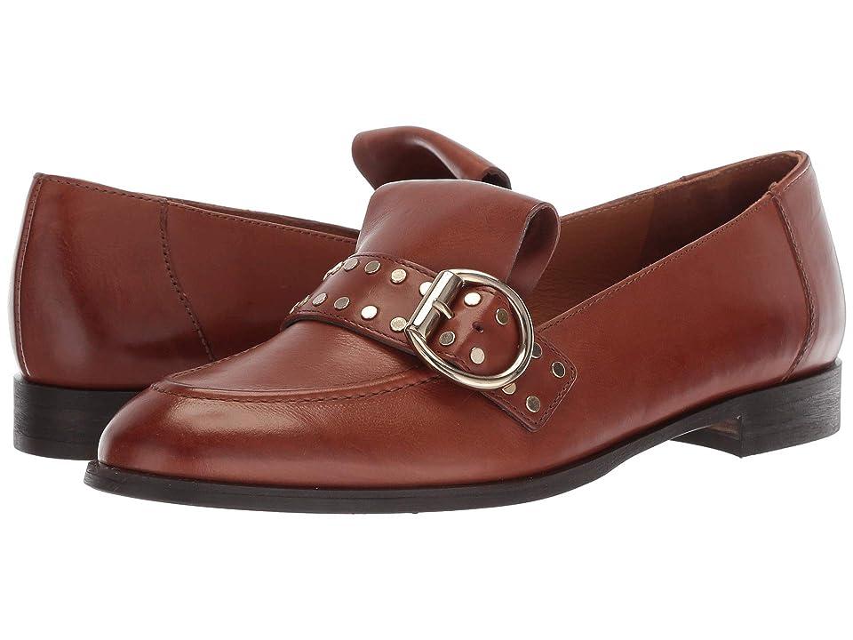 Paul Green Tarin Flat (Cognac Leather) Women
